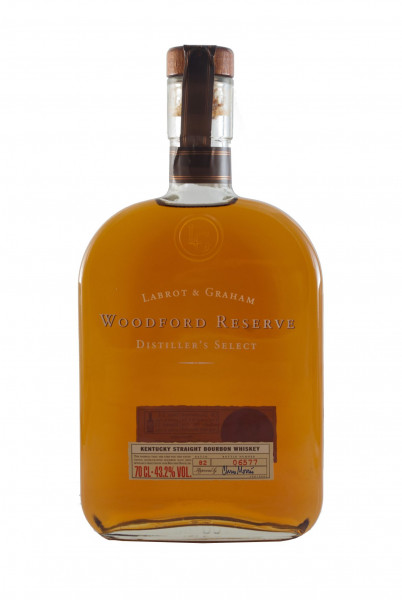 Woodford Reserve Distillers Select, Bourbon Whiskey - 43,2% vol - (0,7L)