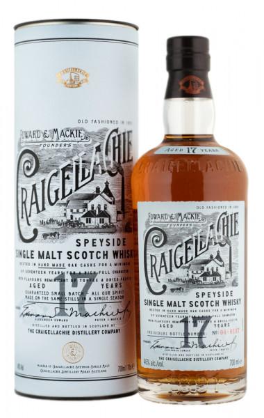 Craigellachie 17 Jahre Single Malt Scotch Whisky - 0,7L 46% vol