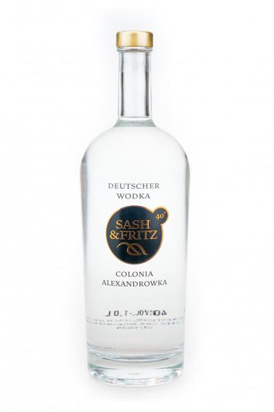 Sash & Fritz Vodka - 1 Liter 40% vol