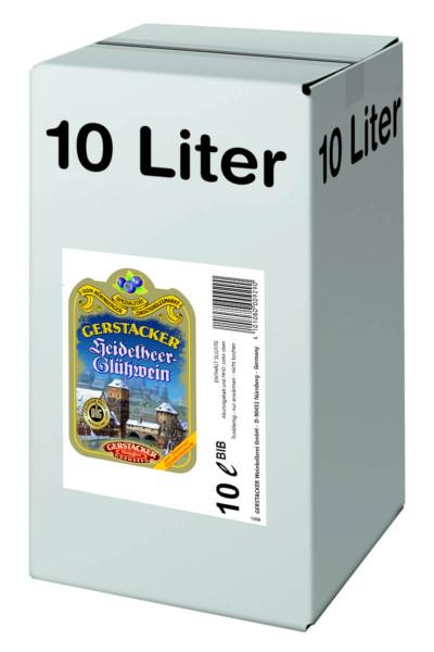 Gerstacker Heidelbeer-Glühwein - 10L 8,5% vol
