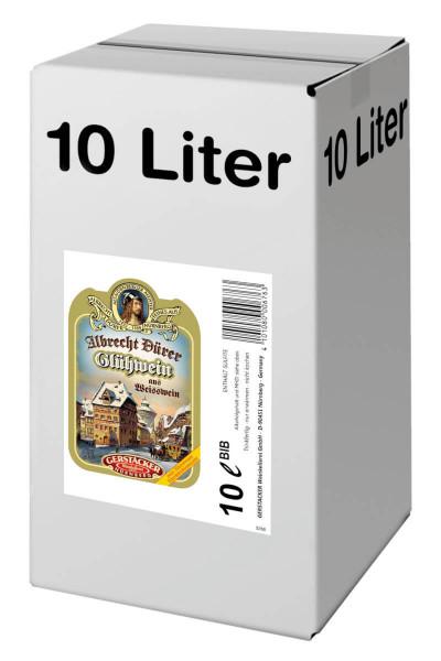 Gerstacker Albrecht Dürer Glühwein aus Weißwein - 10L 9,1% vol