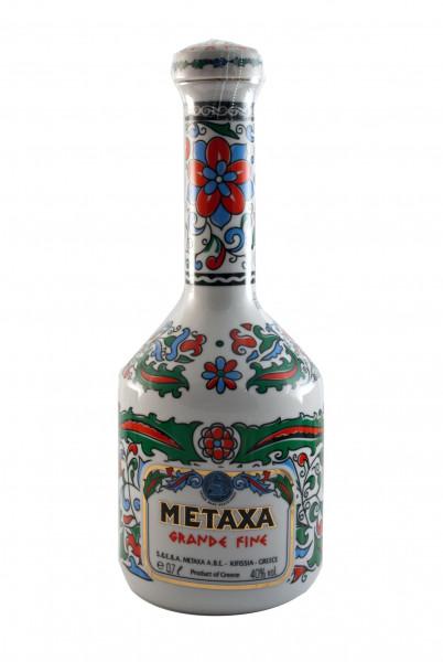 Metaxa Grande Fine Keramik, Weinbrand - 40% vol - (0,7L)