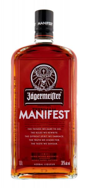 Jägermeister Manifest Kräuterlikör - 1 Liter 38% vol