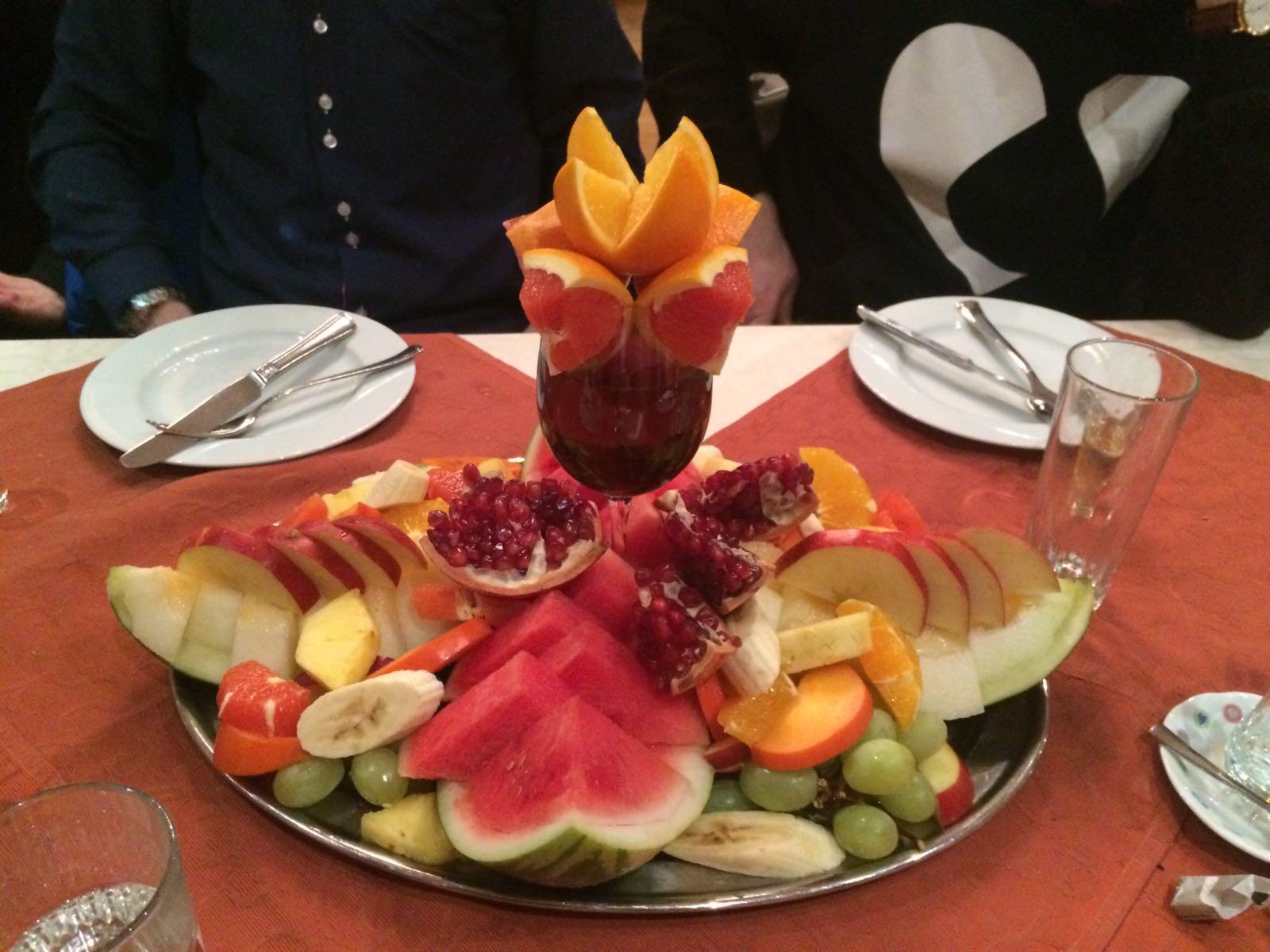 Fruchtteller