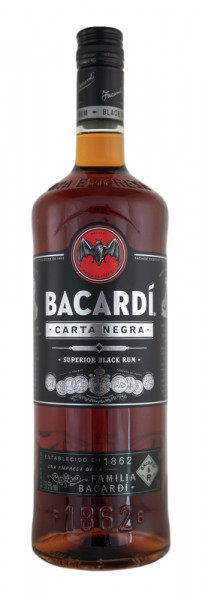 Bacardi Carta Negra - 1 Liter 37,% vol