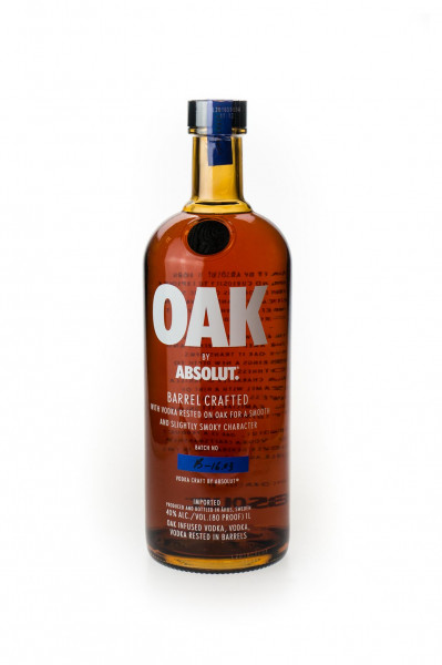 Absolut Oak Barrel Crafted Vodka - 1 Liter 40% vol