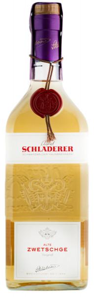 Schladerer Alte Zwetschge Spirituose mit Fruchtauszug - 0,7L 42% vol