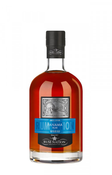 Rum Nation Panama 10 Jahre - 0,7L 40% vol