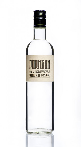 Partisan Vodka 50 - 0,5L 50% vol