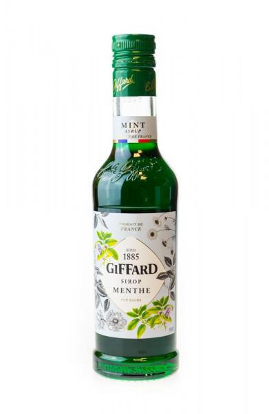 Giffard Minze Grün Sirup Menthe - 0,35L