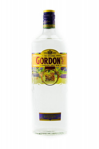 Gordons London Dry Gin - 1 Liter 37,5% vol