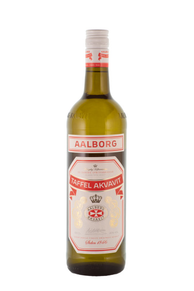Aalborg Taffel Akvavit - 1 Liter 45% vol
