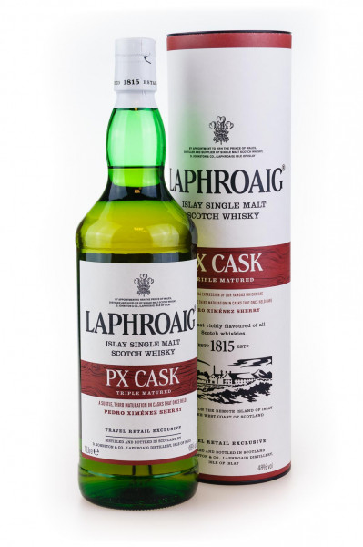 Laphroaig PX Cask Islay Single Malt Scotch Whisky - 1 Liter 48% vol