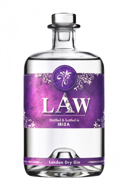 LAW The Gin of Ibiza London Dry Gin - 0,7L 44% vol