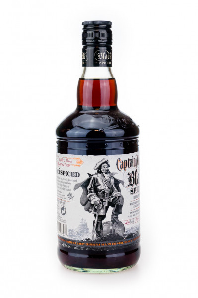 Captain Morgan Spiced Black Jamaica - 1 Liter 40% vol