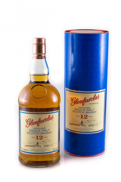 Glenfarclas 12 YO, Speyside Single Malt, Scotch Whisky - 43% vol - (1 Liter)