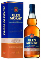 Glen Moray Chardonnay Cask Finish Single Malt Scotch Whisky - 0,7L 40% vol