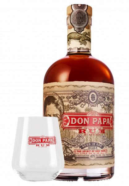 SET: Don Papa Rum + Don Papa Tumbler - 0,7L 40% vol