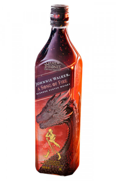 A Song of Fire Johnnie Walker Blended Whisky - 0,7L 40,8% vol