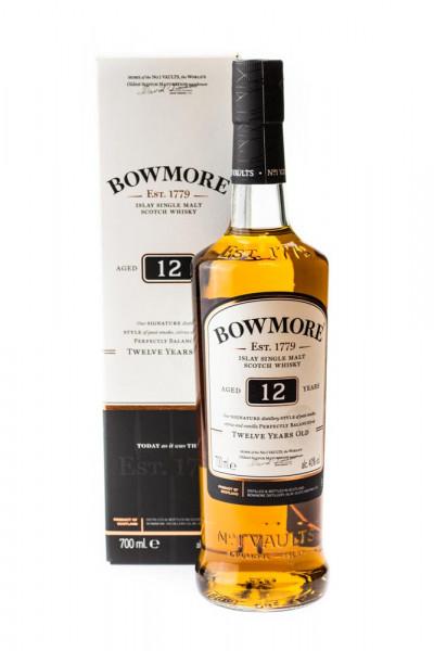 Bowmore 12 Jahre Islay Single Malt Scotch Whisky - 0,7L 40% vol