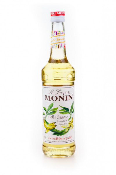 Monin Gelbe Banane Sirup - 0,7L