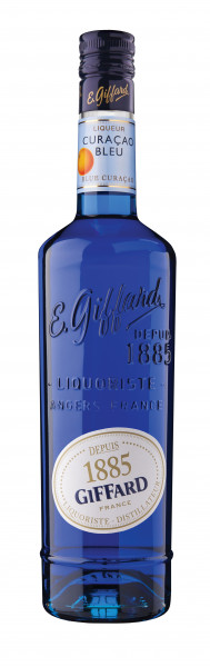 Giffard Blue Curacao Likör - 0,7L 25% vol