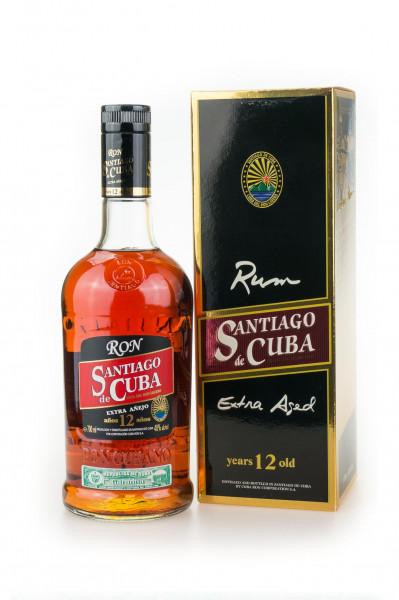 Santiago de Cuba Extra Anejo 12 Jahre Rum - 0,7L 40% vol