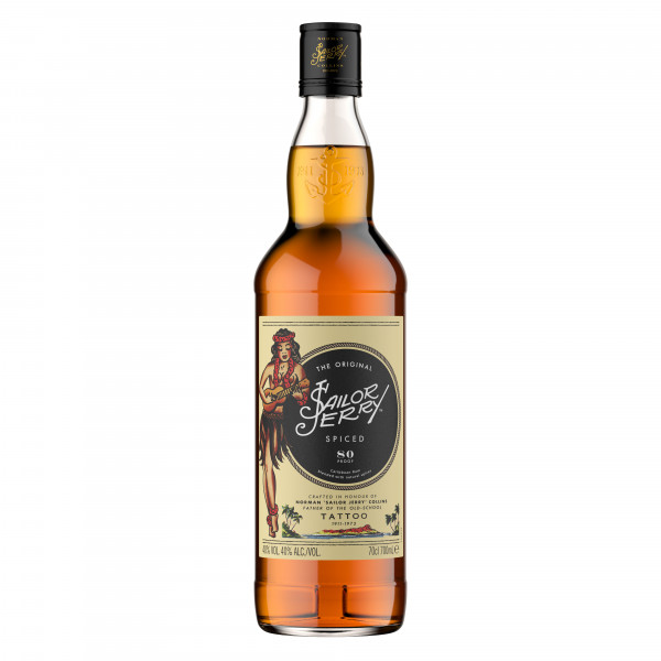 Sailor Jerry Spiced Spirituose - 0,7L 40% vol