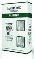 Laphroaig Quarter Cask + 2 Gläser - 0,7L 48% vol