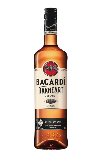 Bacardi Oakheart Smooth & Spiced - 0,7L 35% vol