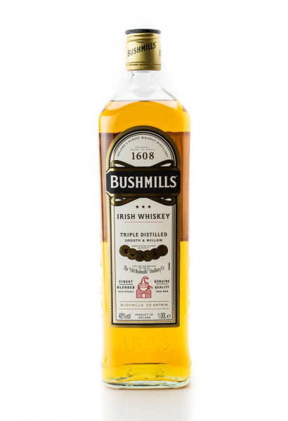 Bushmills Blended Irish Whiskey - 1 Liter 40% vol