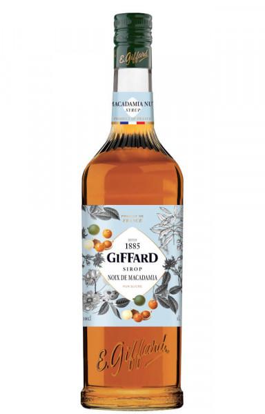 Giffard Macadamia Nuss Sirup Noix de Macadamia - 1 Liter