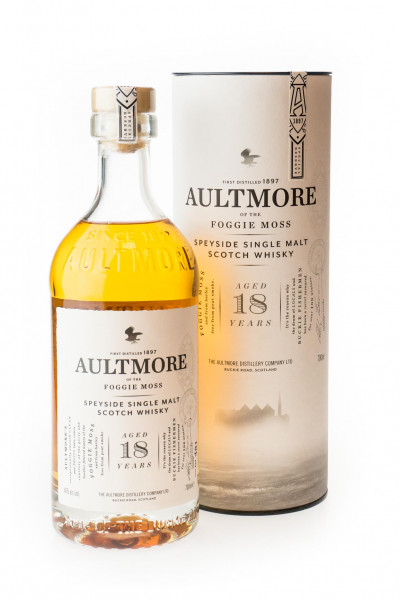 Aultmore 18 Jahre Single Malt Scotch Whisky - 0,7L 46% vol