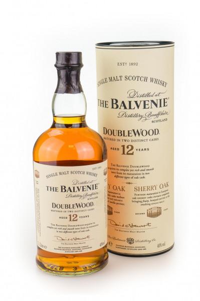 Balvenie Doublewood 12 Jahre Single Malt Scotch Whisky - 1 Liter 40% vol
