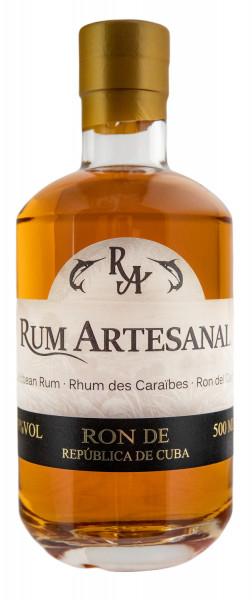 Rum Artesanal Ron de República Cuba - 0,5L 40% vol