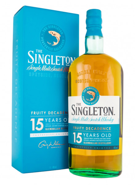 Singleton of Glendullan 15 Jahre Single Malt Scotch Whisky - 1 Liter 40% vol
