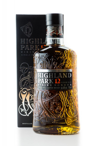 Highland Park Whisky 12 Jahre Orkney Single Malt Scotch Whisky - 0,7L 40% vol
