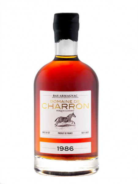 Domaine de Charron Bas-Armagnac 1986 - 0,5L 45,8% vol