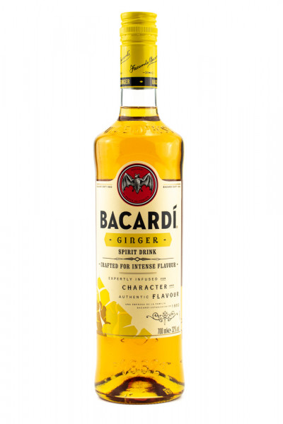 Bacardi Ginger auf Rum-Basis - 0,7L 32% vol