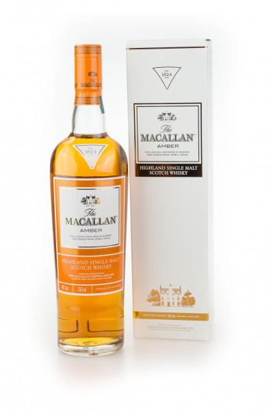 Macallan Amber Single Malt Scotch Whisky - 0,7L 40% vol