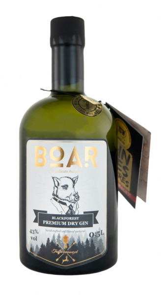 Boar Dry Gin - 0,5L 43% vol
