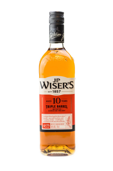 J.P. Wisers 10 Jahre - 0,7L 40% vol