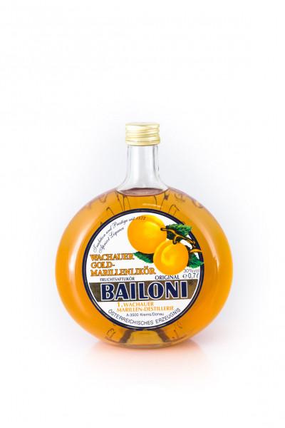 Bailoni Wachauer Gold-Marillen Fruchtsaftlikör - 0,7L 30% vol