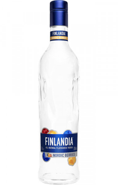 Finlandia Nordic Berries Flavoured Vodka - 1 Liter 37,5% vol