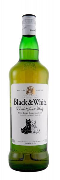Black & White Blended Scotch Whisky - 1 Liter 40% vol
