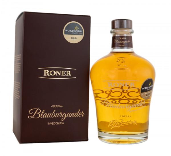 Roner Grappa Blauburgunder - 0,7L 40% vol