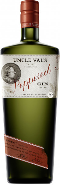 Uncle Vals Peppered Gin - 0,7L 45% vol
