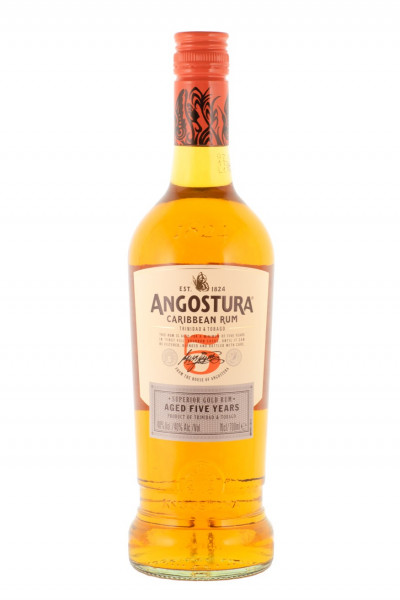 Angostura Gold Caribbean Rum 5 Jahre - 0,7L 40% vol