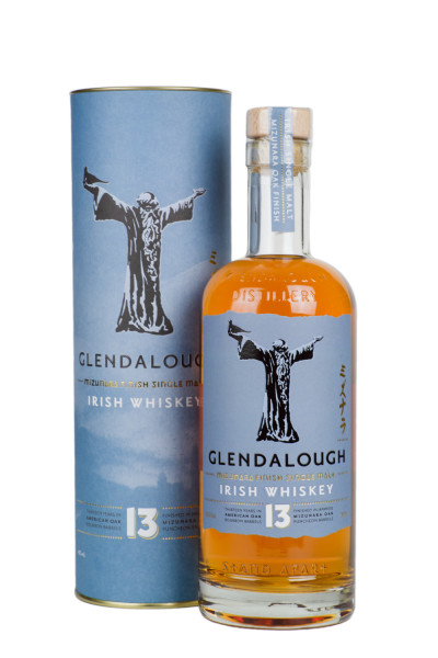 Glendalough 13 Jahre Single Malt Mizunara Oak Finish Irish Whiskey - 0,7L 46% vol