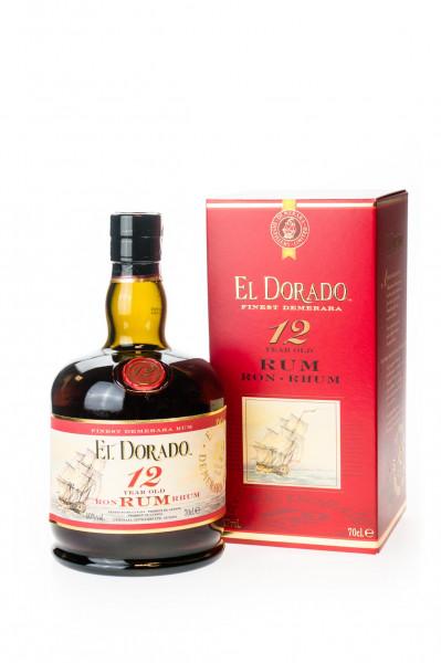 El Dorado Rum 12 Jahre - 0,7L 40% vol
